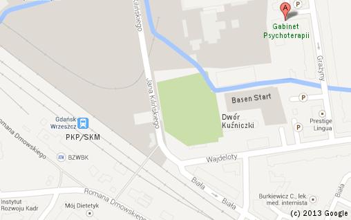 (c) 2013 Google - Gdańsk Psycholog